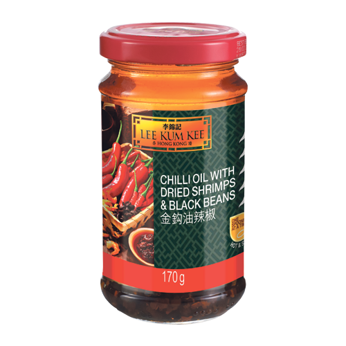 Chilli Oil with Dried Shrimps & Black Beans